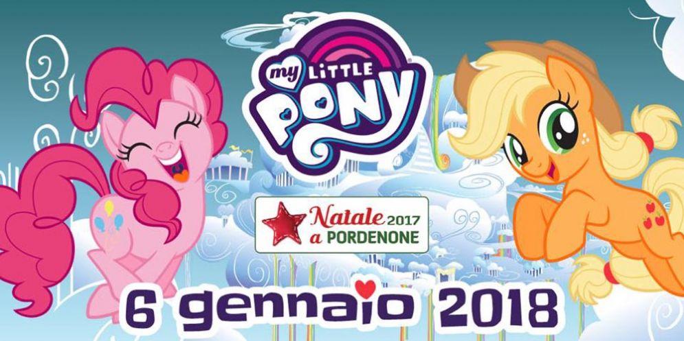 "L' Epifania a Pordenone è insieme ai ""My Little Pony"""