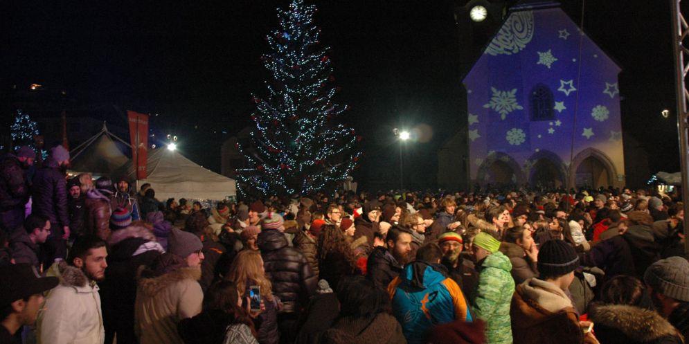 Grande festa in piazza a Tarvisio per Capodanno