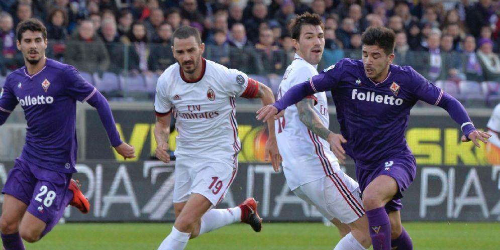 Fiorentina e Milan: rivali in campo e forse anche sul mercato