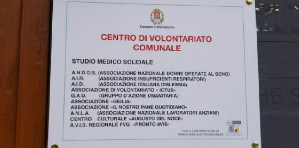 Una convenzione per la gestione dello Studio medico solidale di Pordenone