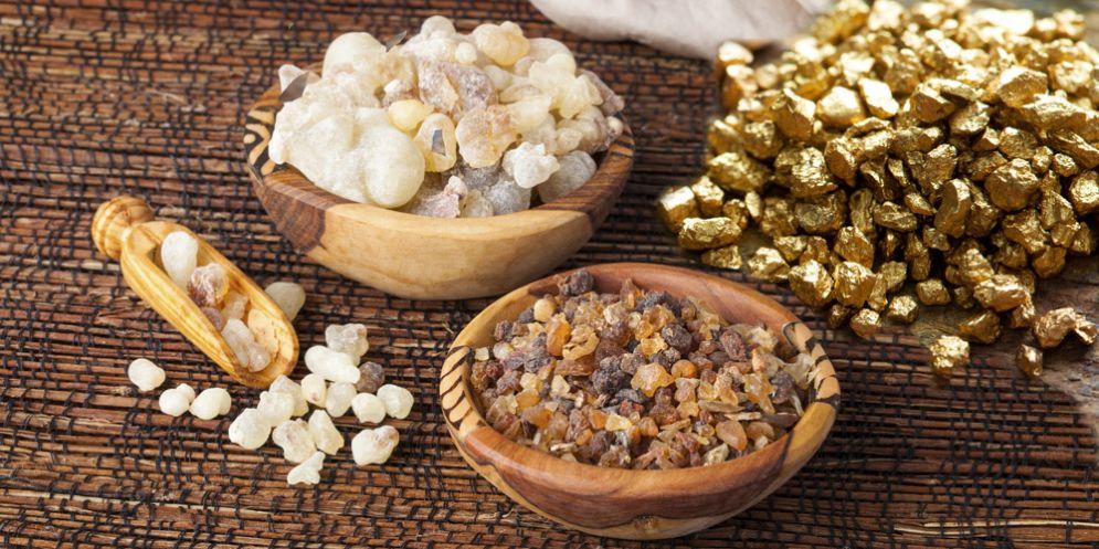Il benessere è a portata di mano ... con oro, incenso e mirra