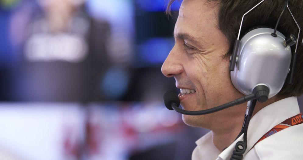 Il team principal della Mercedes, Toto Wolff