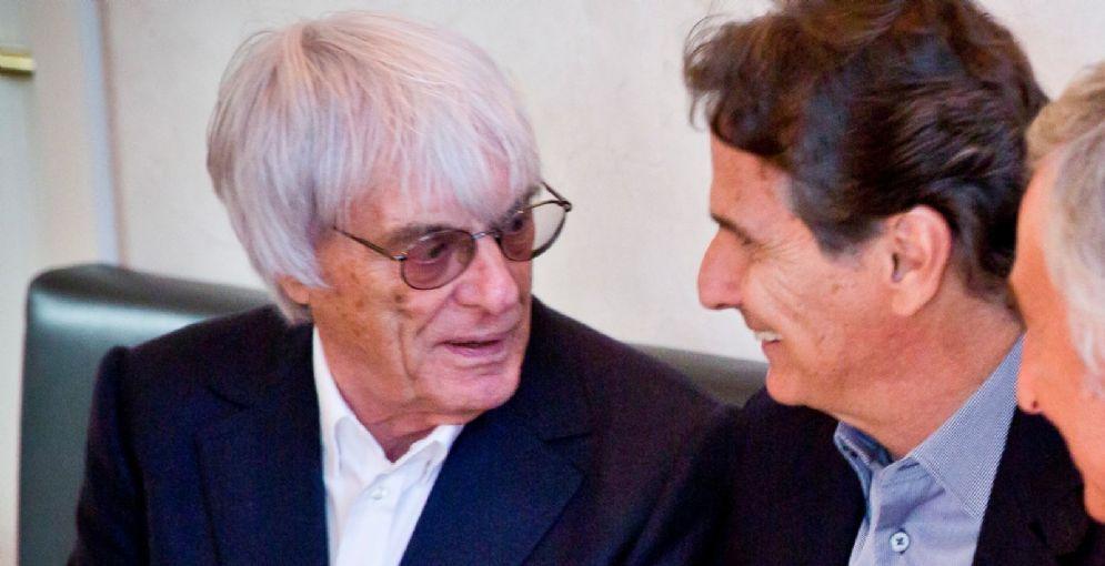 L'ex patron della F1, Bernie Ecclestone