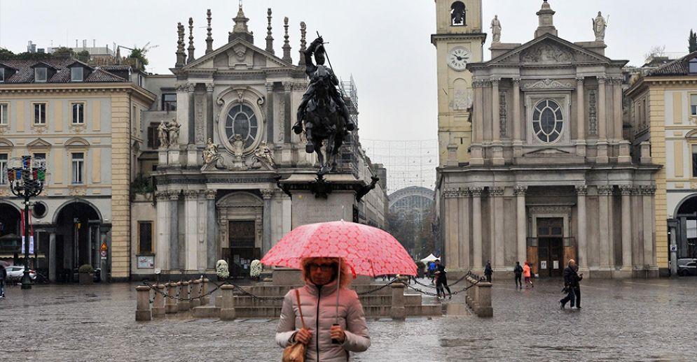 Pioggia a Torino durante il week end dell'Epifania