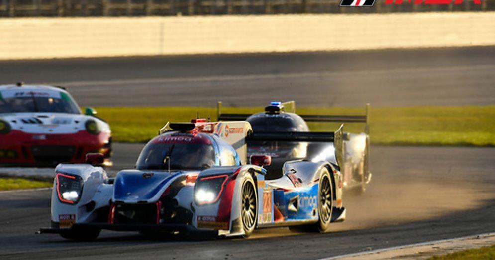 La Ligier di Fernando Alonso in pista a Daytona