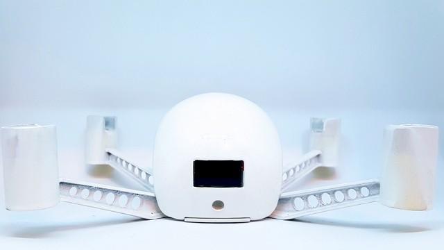 Il guardiano di casa del futuro? Un mini drone (intelligente)