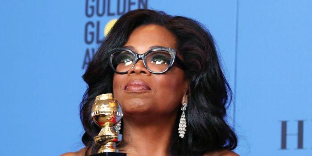 Oprah Winfrey e l'appello alle donne: «È l'alba di un nuovo giorno»