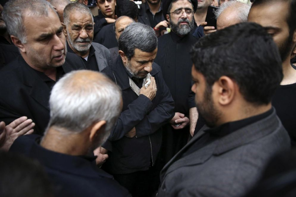L'ex presidente iraniano Mahmoud Ahmadinejad