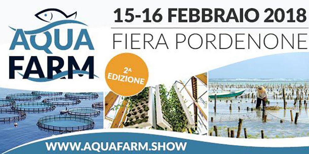 AquaFarm a Pordenone, appuntamento per conoscere le tendenze del settore dell'Acquacoltura