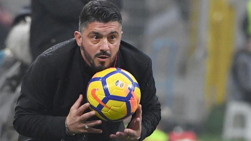 Il neo allenatore del Milan Gennaro Gattuso