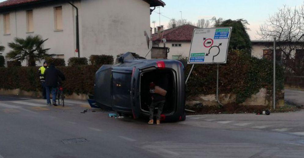 Doppio incidente a San Giovanni al Natisone: tre i feriti