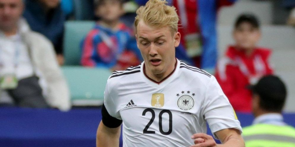 Il calciatore tedesco Julian Brandt