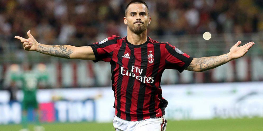 L'attaccante spagnolo del Milan Suso