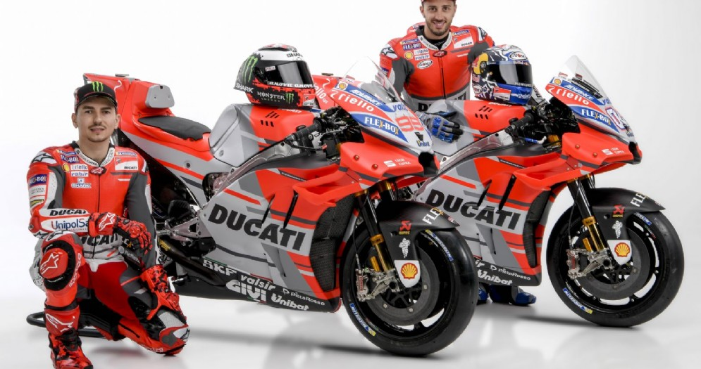 La nuova Ducati Desmosedici GP 2018
