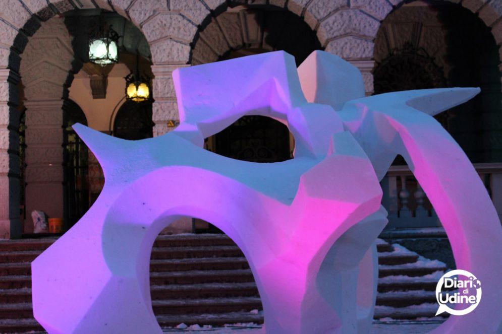 'Snow Art': a Pontebba è tempo di sculture di ghiaccio e di 'Stars on Ice'