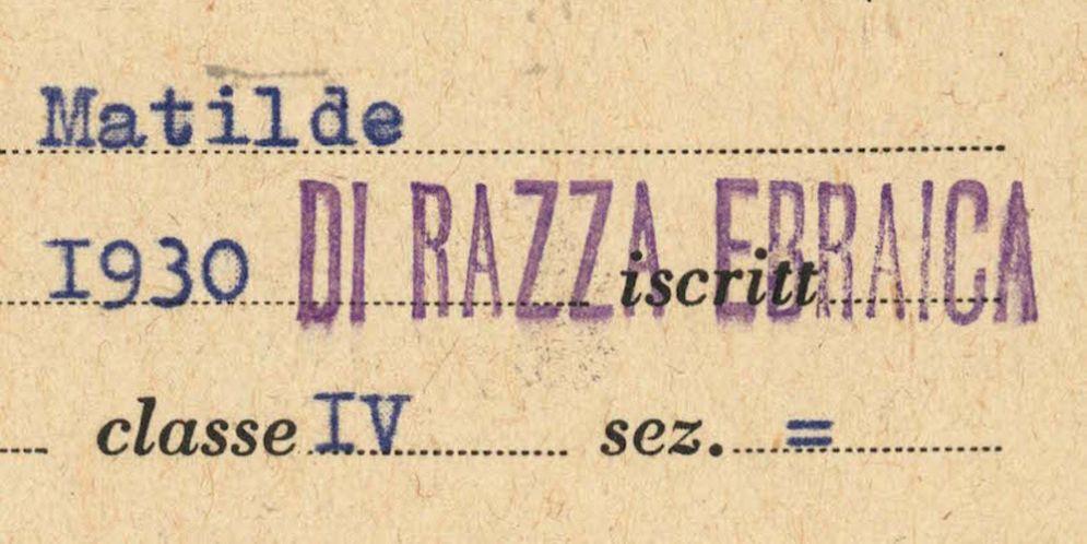 Giornata della Memoria: apre la mostra 1938-1945. La persecuzione degli ebrei in Italia