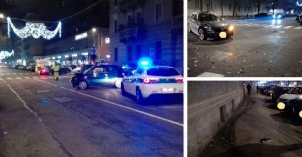Incidente in corso De Gasperi
