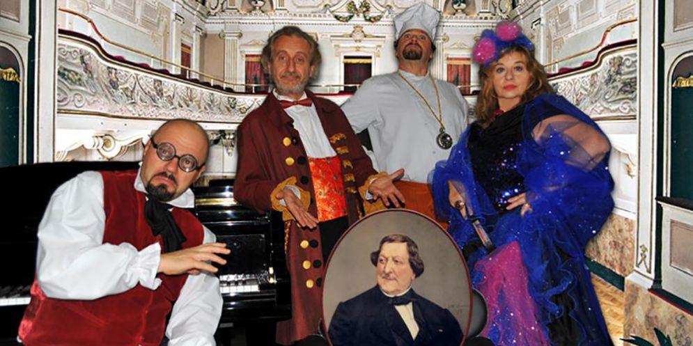 """""""Non toccatemi Rossini"""", la commedia musicale dell'artista piemontese Massimo Bagliani"""