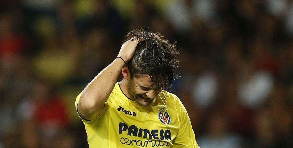 Il brasiliano Pato con la maglia del Villarreal