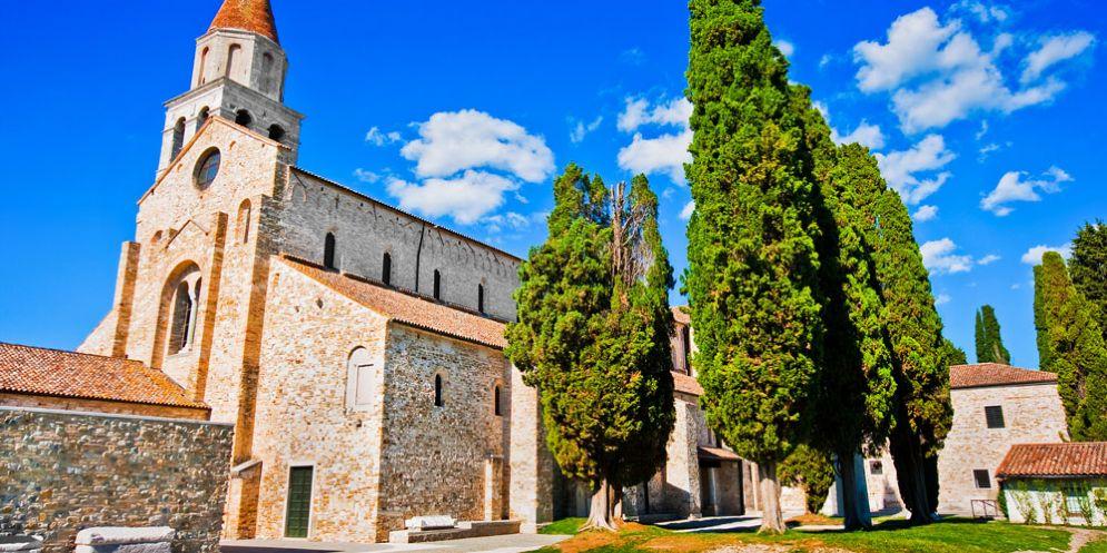 Aquileia: rivive l'aula teodoriana del complesso basilicale