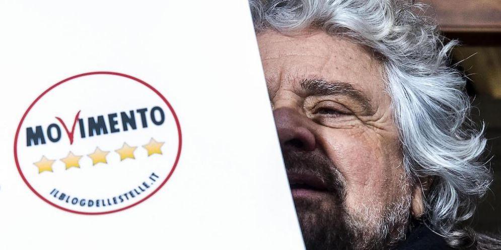 Il fondatore del Movimento Cinque Stelle Beppe Grillo