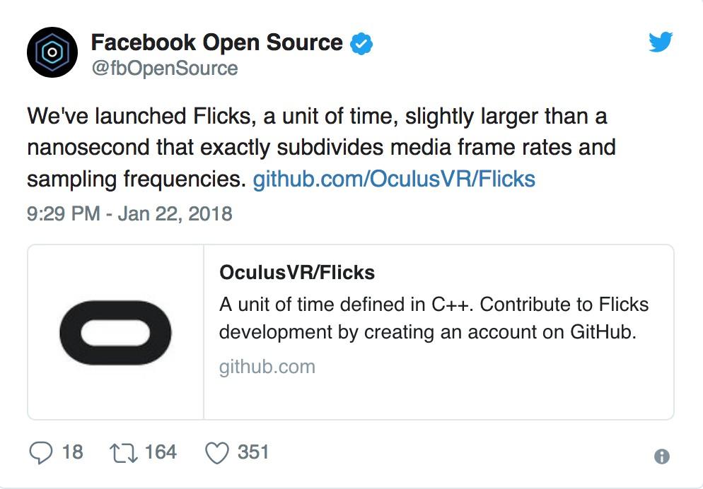 Flick, l'unità di misura di Facebook