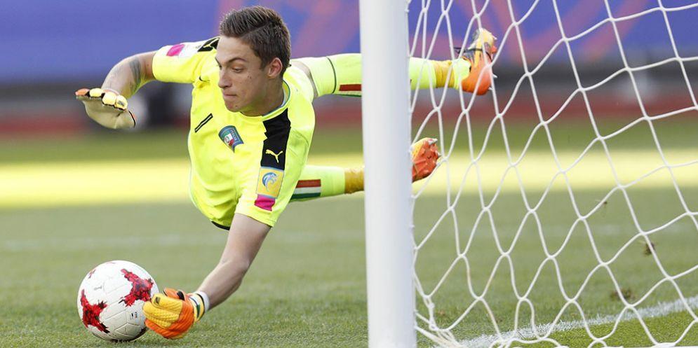 Alessandro Plizzari, portiere della Ternana in prestito dal Milan
