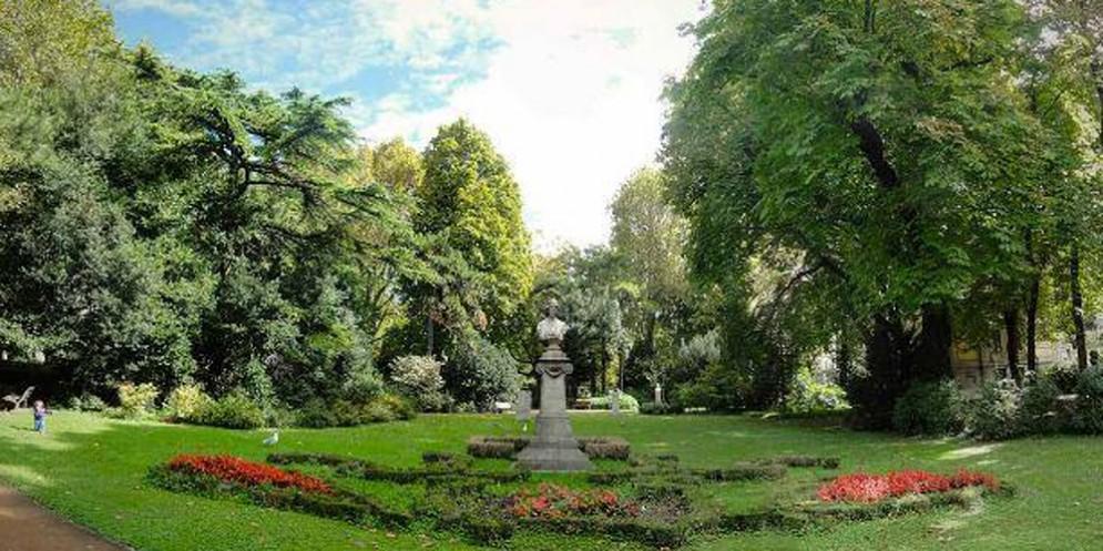Chiuso per lavori giardino pubblico De Tommasini