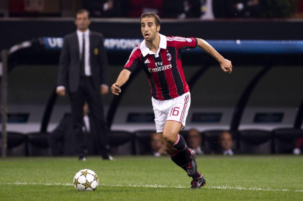 Mathieu Flamini ha giocato nel Milan dal 2008 al 2013