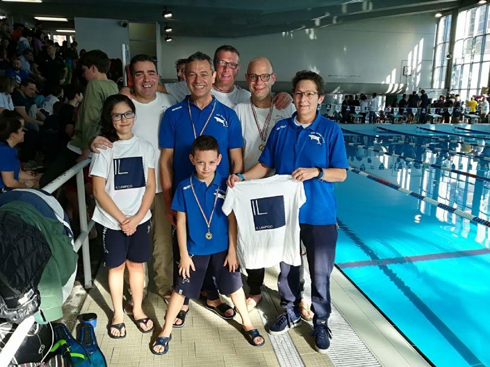 Foto di gruppo per la partecipazione al Trofeo Città di Piacenza