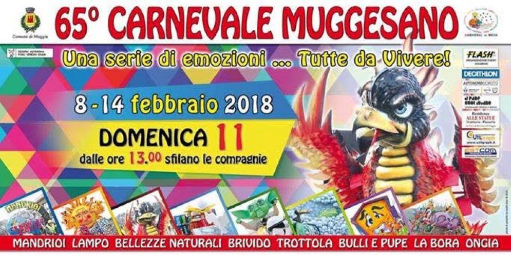 Il Carnevale Muggesano taglia il traguardo delle 65 edizioni