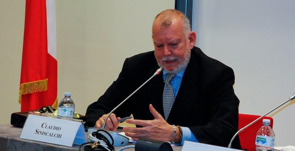 Lo storico Claudio Siniscalchi.