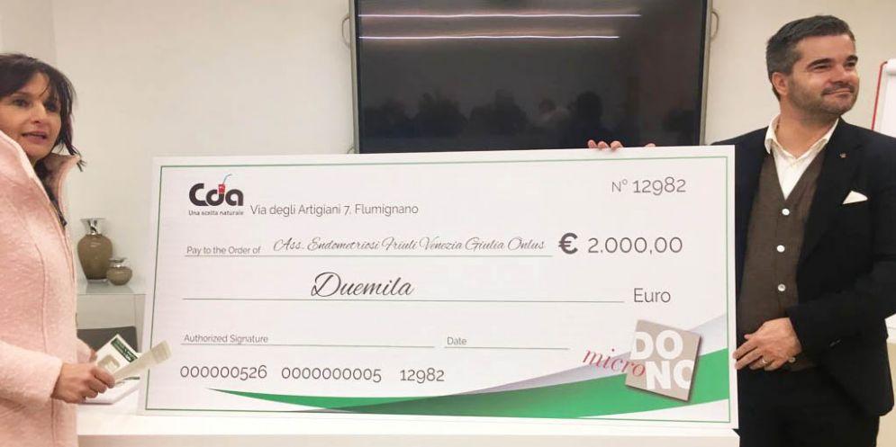 Cda, con i caffè solidali raccolti 2 mila euro