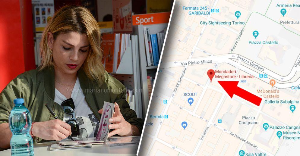 Emma Marrone incontra i suoi fan a Torino