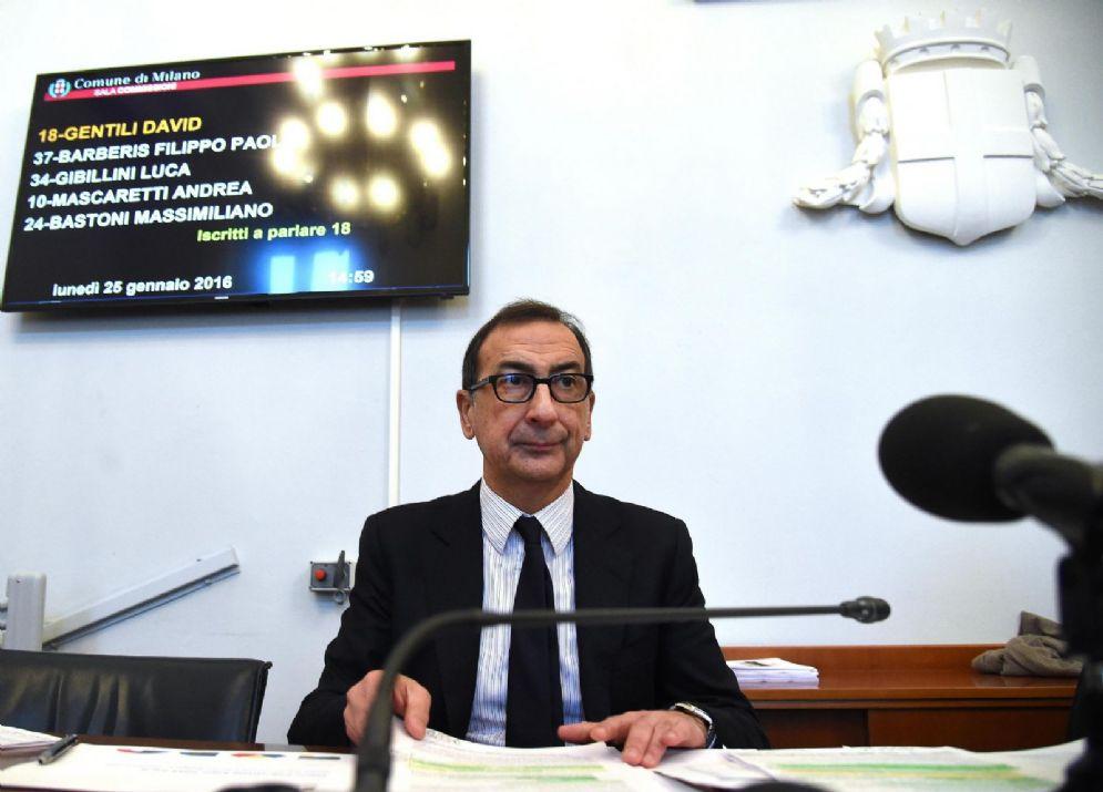 L'ex sindaco di Milano Beppe Sala