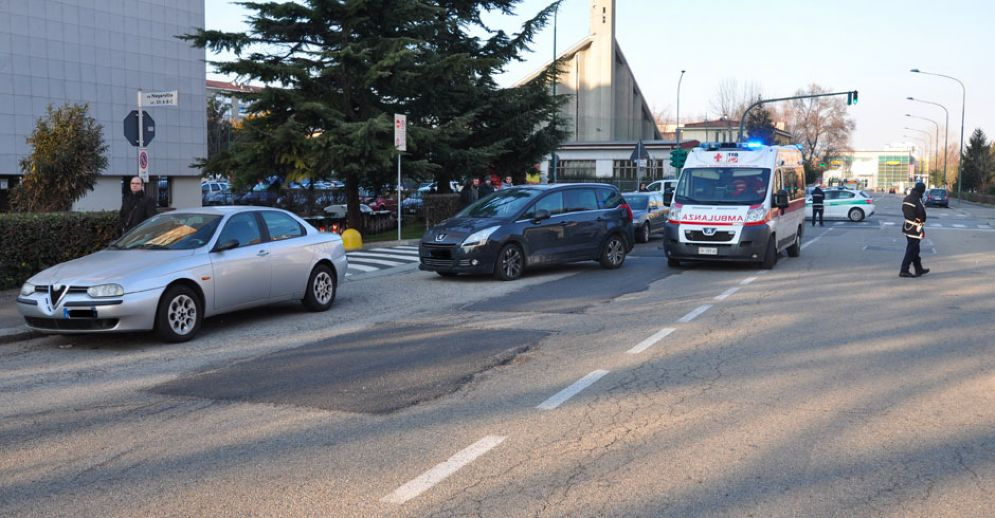 L'incidente in via Negarville