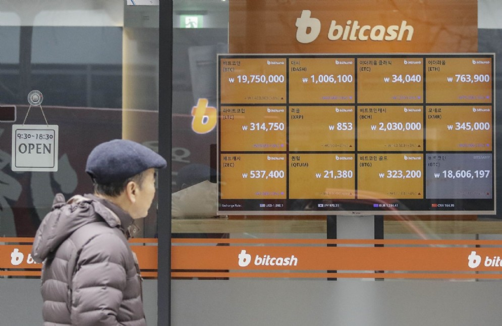Bitcoin in Sud Corea