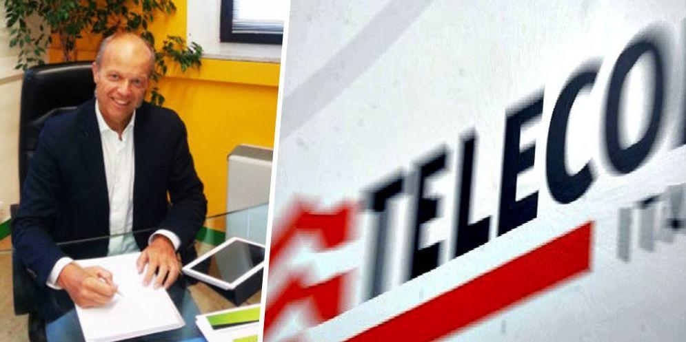 Paolo Maggia e la Telecom