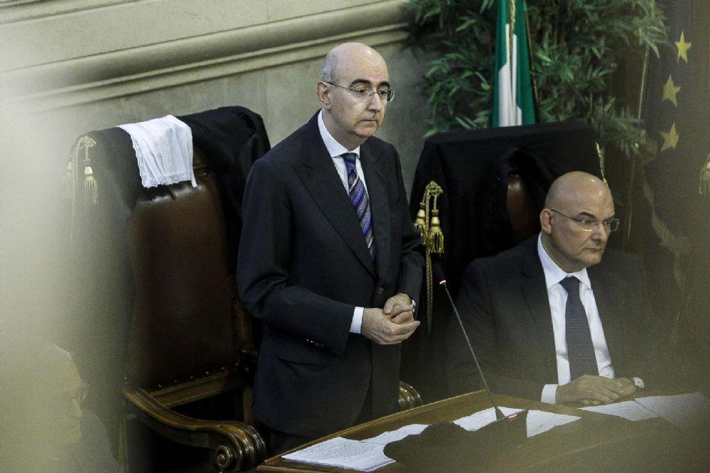 Il presidente dell' Ordine degli avvocati di Roma Mauro Vaglio