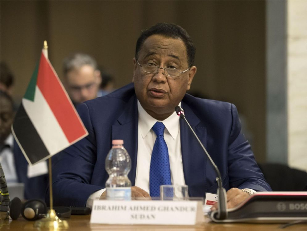 Il ministro Ibrahim Ghandour