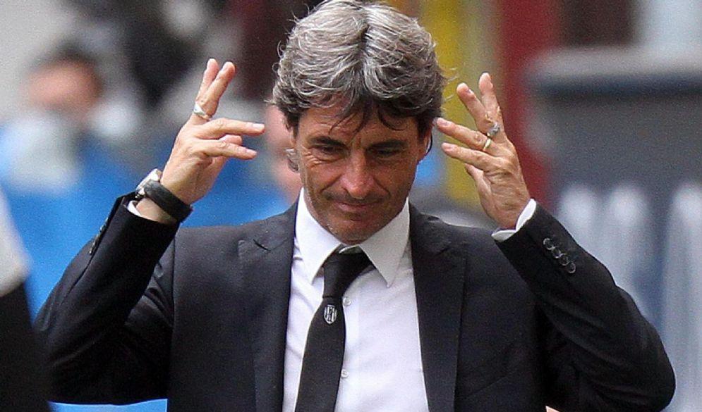 Il futuro responsabile del settore tecnico del Milan Mario Beretta