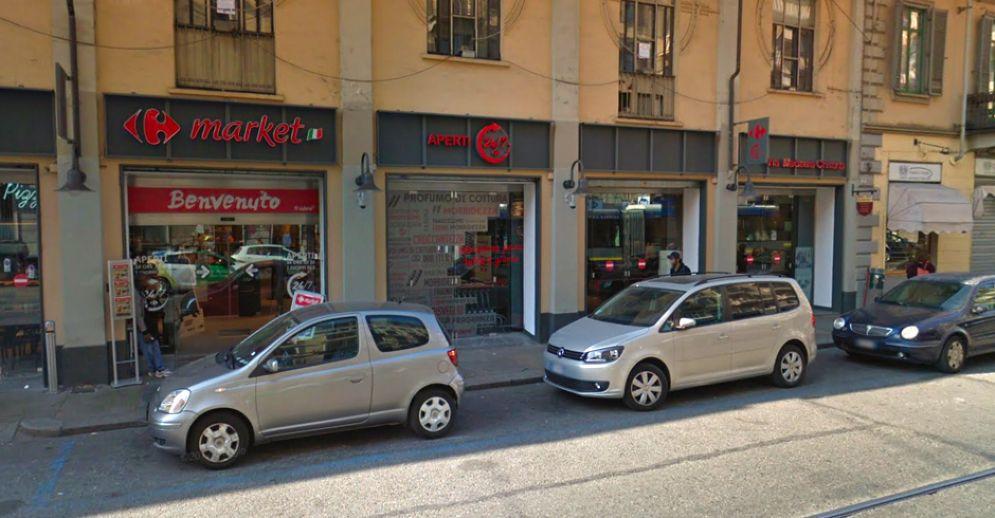 Chiusura temporanea per il Carrefour Market