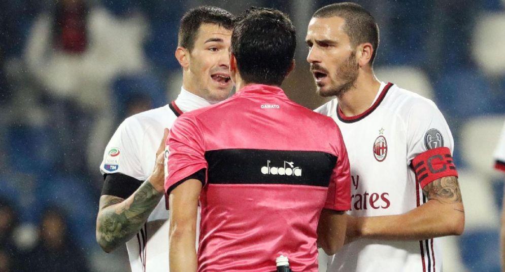 Bonucci e Romagnoli, con Donnarumma finisti nel mirino del Real Madrid