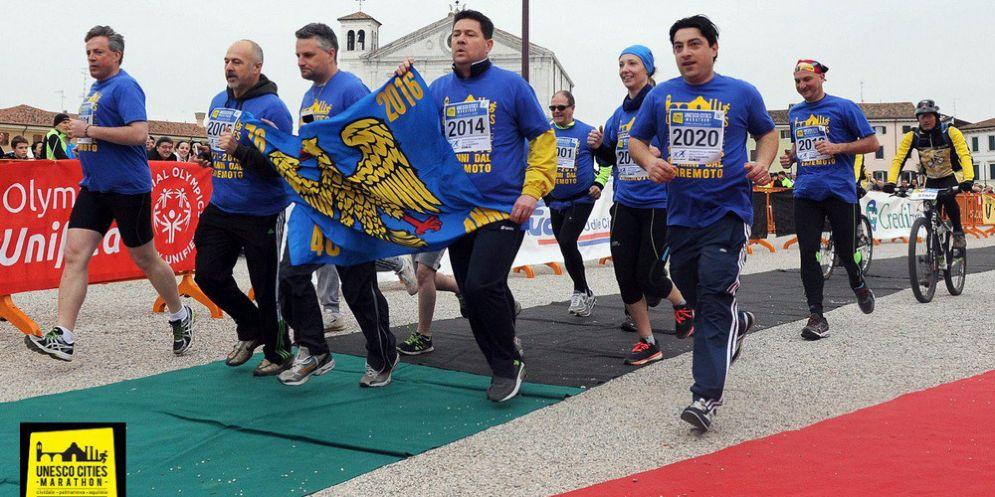 Sport e impegno sociale: i migranti dello Sprar di Cividale al via dell'Unesco Cities Marathon