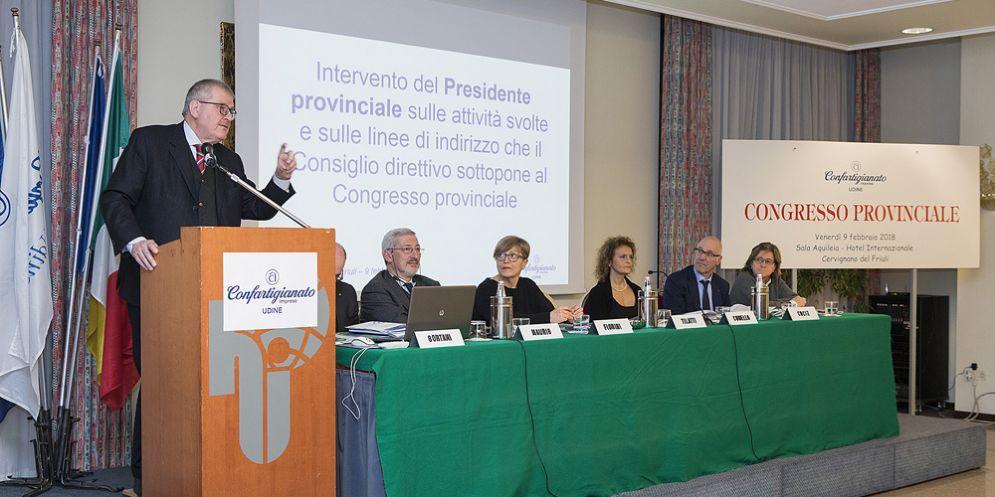 Confartigianato Udine anticipa il congresso: un chiaro segnale alle forze politiche