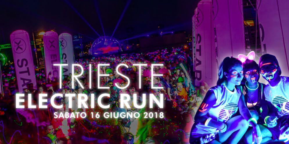 L'Electric Run Recharged: la prima tappa italiana a Trieste!