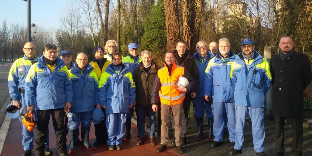Manutenzione e pulizie del Noncello, in campo la protezione civile comunale