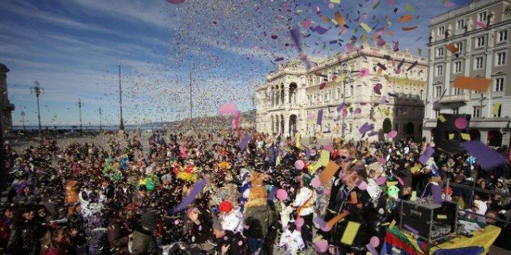 Trieste: il Carnevale entra nel vivo
