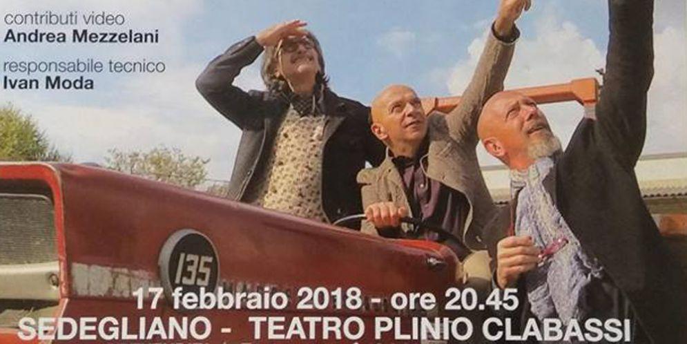 'Il Tacchino sul Tetto' debutta il nuovo spettacolo del trio de Maglio, Mezzelani e Somaglino