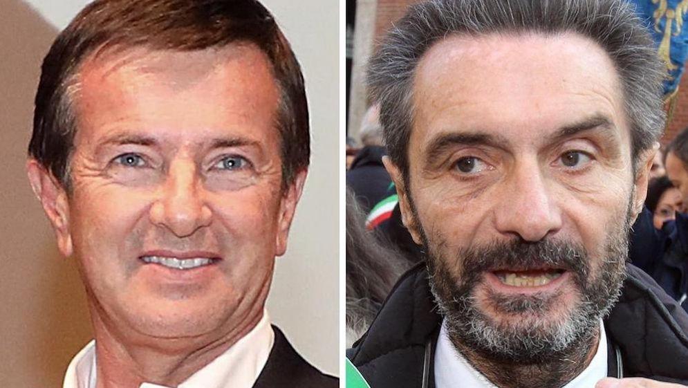 Giorgio Gori e Attlilio Fontana